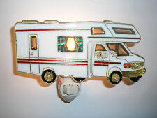 """STAINED GLASS STYLE  """"motor home  """"  NIGHT LIGHT"""