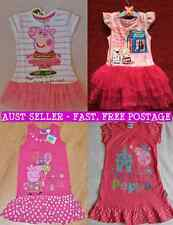 NEW Peppa Pig Summer Dresses - 4 Designs to choose from - Various Sizes FREEPOST
