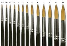 Winsor and Newton Series 7 kolinsky Sable hair, The worlds finest - Size 00 - 8