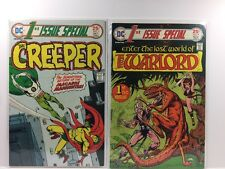 DC: 1st Issue Special #7 & #8 - 1st Appearance of Warlord and Origin