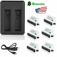 Battery + Charger For Sony NP-FH30 NP-FH40 NP-FH60 NP-FH70 NP-FH90 NP-FH100