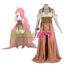 Adventure Time with Finn and Jake Princess Bubblegum dress Cosplay costume