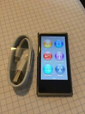 Apple iPod nano 7th Generation Slate (16 GB) Fair Condition