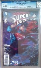 Superman Unchained 1 3D Variant CGC 9.8 NM/M Scott Snyder Jim Lee