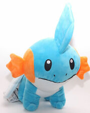 Pokemon Plush Mudkip Character Soft Toy Stuffed Animal Collectible Teddy Doll