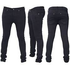 Seven Series Mens Branded Designer Trousers Chinos Skinny Slim Fit Biker Jeans