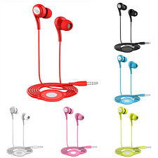 3.5mm In-Ear Earphones Super Bass Headphones Stereo Headset Earbuds With Mic WS
