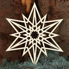 Star Window sticker - Deco wooden and Acrylic glass for Christmas