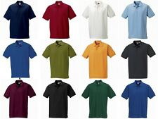 NEW MENS RUSSELL SOFT CLASSIC POLO SHIRT WORKWEAR WORK TOP QUALITY 539M 3 COLOUR