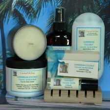 Women's Gift Set Bath Soap Lotion Cologne Body Spray Candle