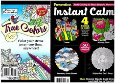 Lot of 2 x TRAVEL SIZE ADULT COLORING BOOKS SEE DESCRIPTION