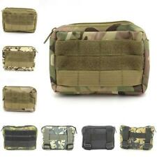 4*6 inch Rectangle Military Sundries Bag Outdoor Zippered Key Pouch Mess Kit Bag