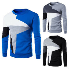Fashion Mens Men Stylish Slim Fit Winter Casual T-shirts Shirt Long Sleeve Tops