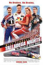 Talladega Nights Intl Orig Movie Poster Two Sided 27x40
