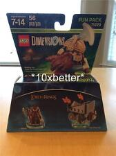 LEGO DIMENSIONS GIMLI LORD OF THE RINGS FUN PACK 71220 *IN HAND* FREE SHIPPING!!