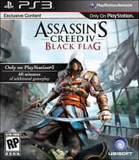 Assassin's Creed IV: Black Flag (Sony PlayStation 3, 2013) -NEVER OPENED