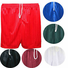 NEW KIDS BOYS GIRLS SCHOOL SPORT FOOTBALL SHADOW STRIP PE SHORTS PANTS KNICKERS