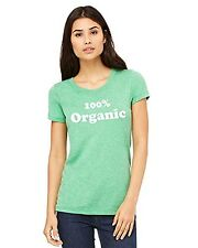 Ladies Fitted Tee | 100% Organic T-shirt