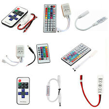 For 3528 5050 RGB LED Strip Light 3/10/24/44 Key IR Remote Wireless Controller&~