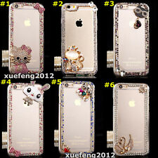 Bling Clear Crystal Diamonds hard back thin Phone Case Cover Skin for ZTE