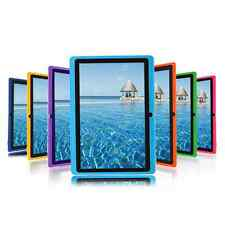 "7"" inch A33 Android 4.4 Allwinner Tablet PC Quad Core DUAL CAMERA US Purple"