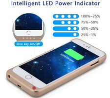 """3200mAh External Power Bank Charger Backup Battery Case For iPhone 6 4.7""""&6 Plus"""