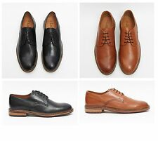 MENS REAL LEATHER CASUAL OFFICE SMART LONDON FORMAL LACE UP  BROGUES SHOES SIZE
