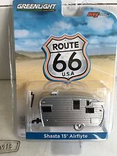 SHASTA TRAILER DIECAST MODEL  ROUTE 66 PACKAGING.  1.64 SCALE