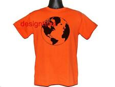 WORLD GLOBE EARTH DESIGN CUSTOM TEE T SHIRT T-SHIRT S M L XL 2XL 3XL NEW