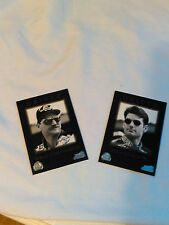 1996 Pinnacle Dale Earnhardt and Jeff Gordon Trading Cards