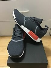 """Adidas NMD R_1 Grey Orange Charcoal Reflective S31510 Men Size 6-12us""""AUTHENTIC"""""""
