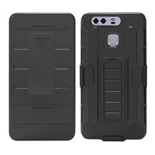 Armor Impact Hard Holster Rugged Hybrid Case Belt Clip Stand Cover For Huawei