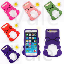 Cute 3D Lovely Sea Turtles Soft Silicone Case Cover For iPhone 5 5s & 6 Plus