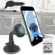 Magnetic Cradle-less Suction Holder with Charger for Samsung T879 Galaxy Note