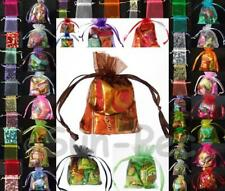 Sheer Organza Candy Bag Jewelry Wedding Party Favors Gift Pouch Sml/Lrg