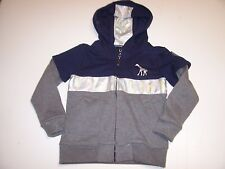 New LRG Lifted Research Group blue gray boys zipper sweatshirt hoodie jacket 5