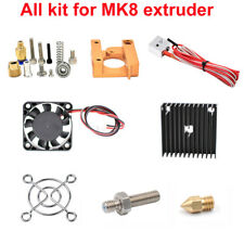 MK8 Extruder Kit J-head Hotend Nozzle 0.4mm Feed for 1.75 Filament without Motor