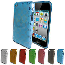 Circle Pattern Gel Case for iPod Touch 4 4th GEN 4G TPU Soft Silicone Cover