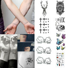 Sexy Removable Sleeve Arm Transfer Waterproof Temporary Tattoo Body Art Sticker-