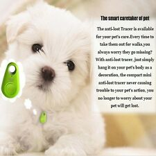 Pet Dog Anti-lost Tracker Smart Buletooth Tracer Locator Tag Alarm Tracer Finder