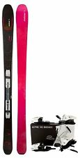 $1000 Womens ELAN Twilight 90 QT Skis Ladies + Quick Trick Bindings 155CM 164CM
