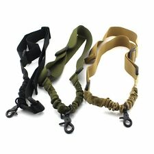 Tactical 1 Single Point Stealth Bungee Sling Strap Rifle Sling Gun Sling For M4
