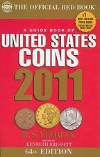 2011 Red Book of U.S. Coins by R.S. Yeoman and Kenneth Bressett (2010, Hardcove…