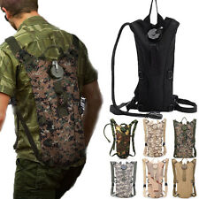 3L Water Bladder Bag Hydration System Backpack Sports Pack Hiking Camping TPU