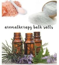 Aromatherapy Himalayan Dead Sea Epsom Salt Bath Salts Natural Pure Essential Oil