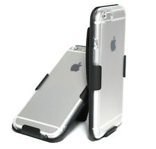 CLEAR CASE + BELT CLIP HOLSTER for iPhone 6s & 6s Plus / iPhone 7 & 7 Plus