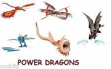 How To Train Your Dragon 2 Power Dragon Toothless Stormfly Cloudjumper Hookfang