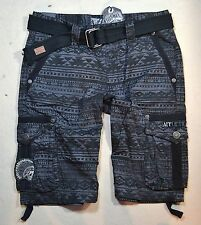 NWT MEN'S AFFLICTION BLACK HORSE CARGO SHORTS SZ 32 36 42 110WS100