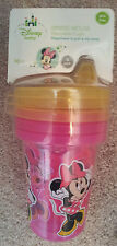 Disney-Baby-Kids-Sippy-Cups-3-Cups-in-Pack-Minnie-Mouse-Reusable-BPA-Free-10-oz