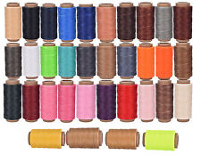 Cord Waxed Thread Wax Bracelet Jewelry Linen Spool Leather Craft Sewing 260m SS